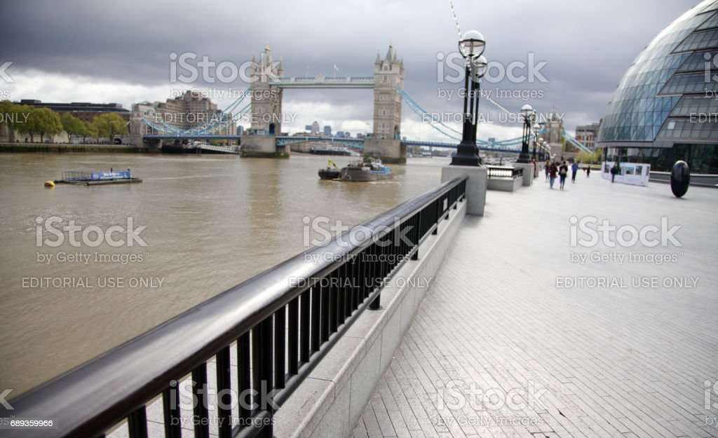 London office buildings and places of interest . stock photo