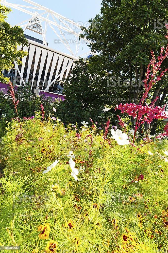 London Olympic Park royalty-free stock photo