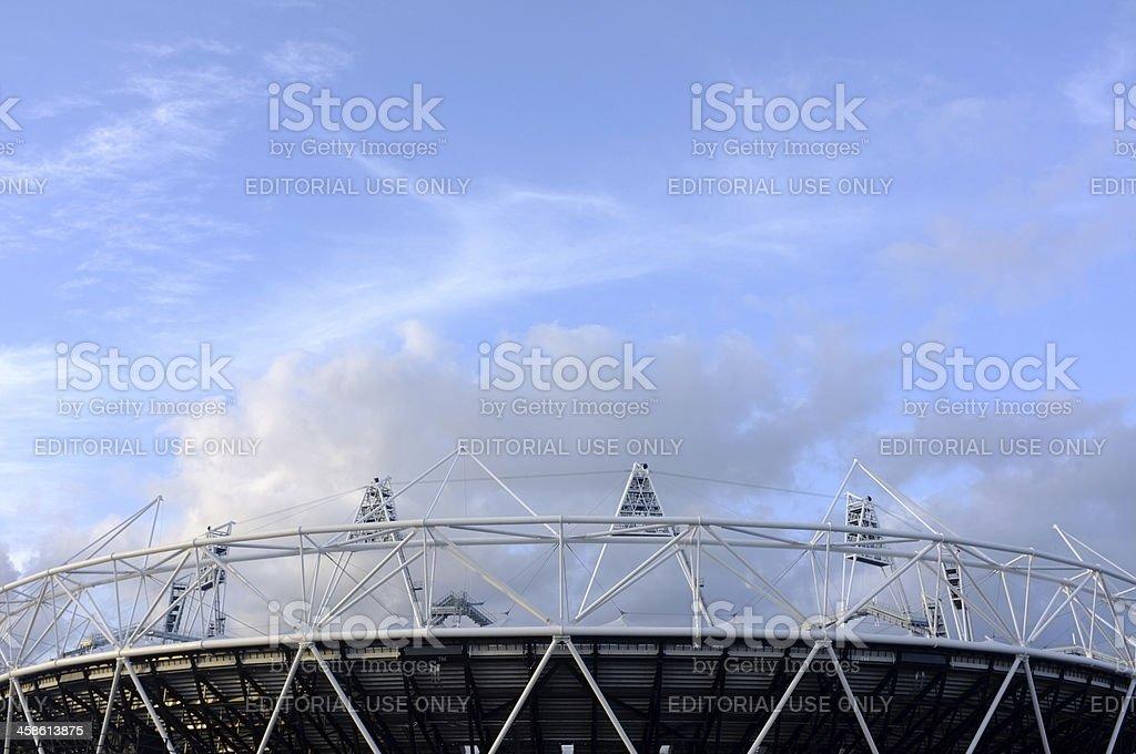 London Olympic stadium royalty-free stock photo