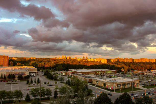 London Ontario Canada skyline stock photo