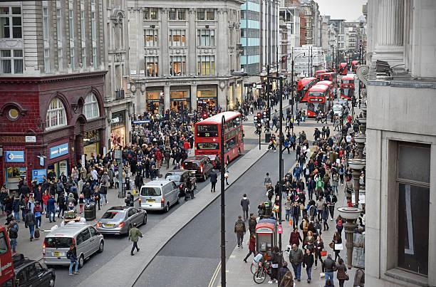 Oxford Street in London – Foto