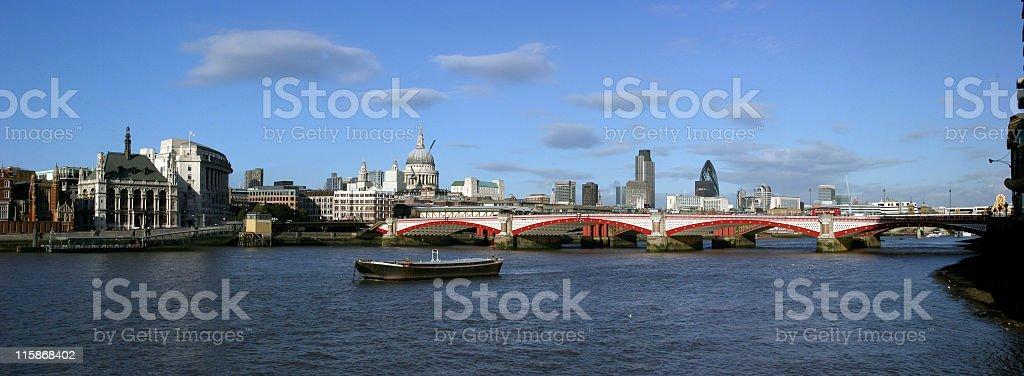 London Panorama royalty-free stock photo