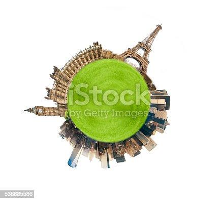 istock London Paris NYC 538685586