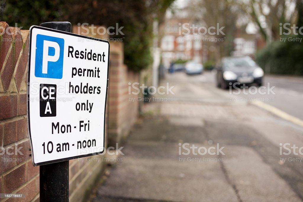 London eingeschränkte Parkmöglichkeiten – Foto