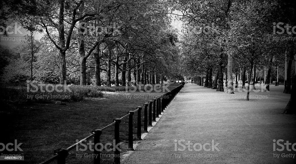 London Path stock photo