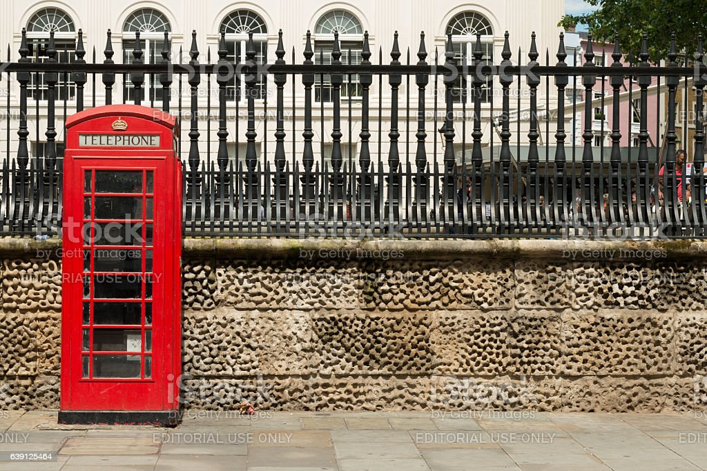 London Phone Booth stock photo