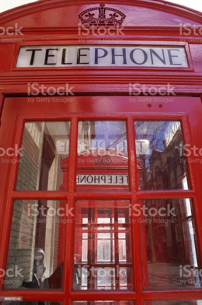 London phone royalty-free stock photo