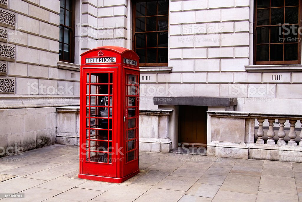 London Phonebooth royalty-free stock photo