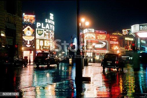 England, United Kingdom, London, Piccadilly Circus 1963rd.