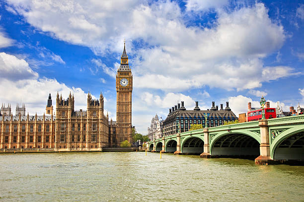 london - big ben stock photos and pictures