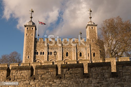 Tower of London Exterior.