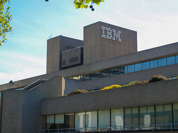 IBM Londres - foto de acervo