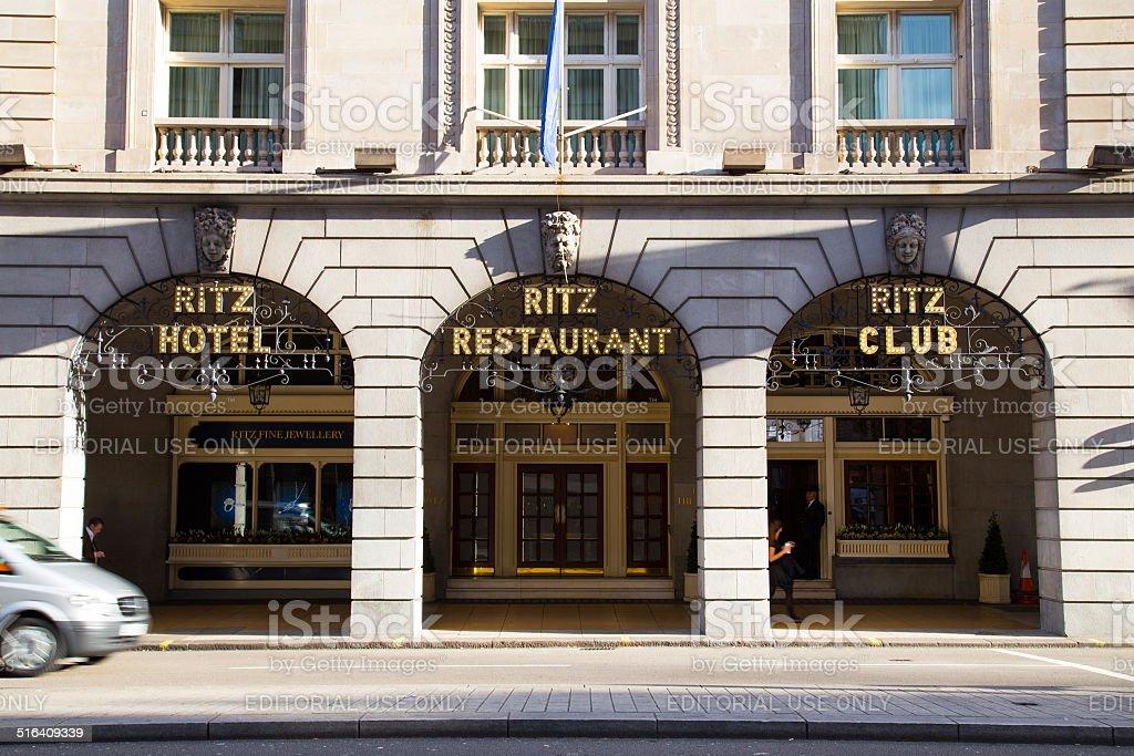 RITZ London stock photo