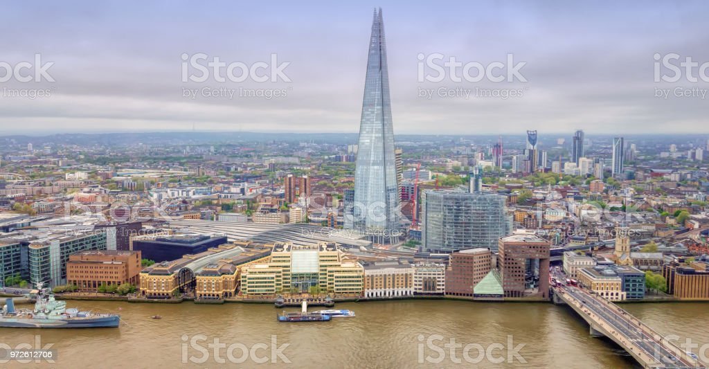 London. stock photo