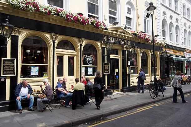 London Pub stock photo