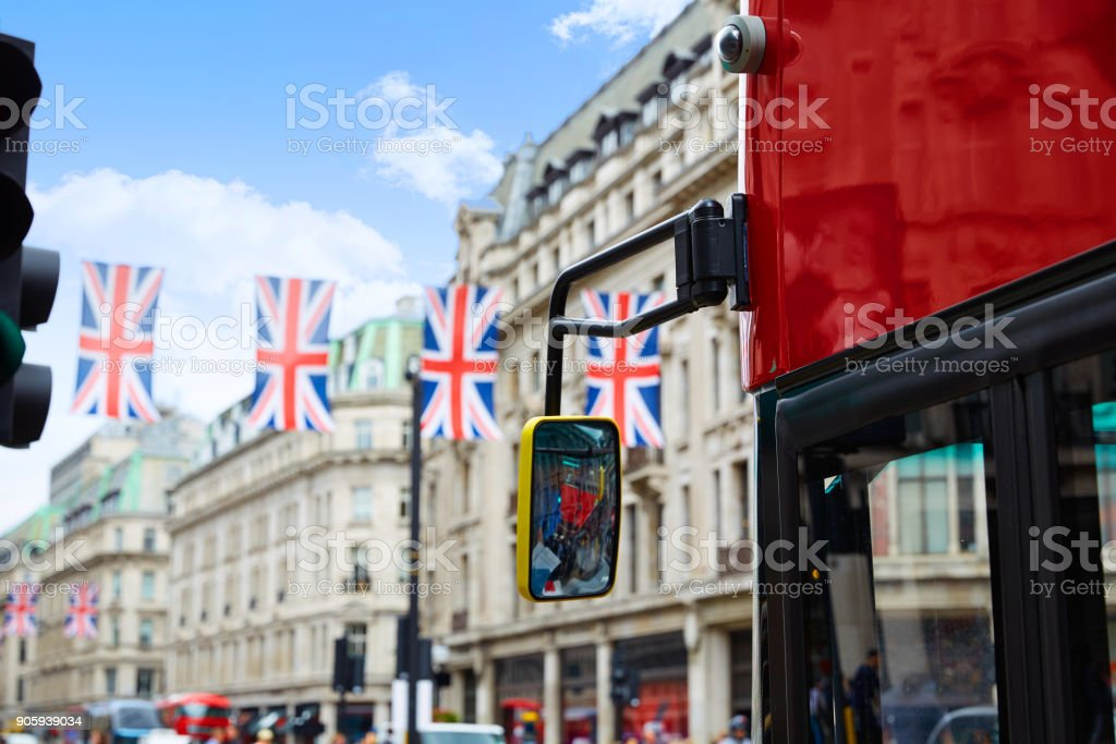 London Regent Street W1 Westminster in UK stock photo