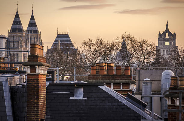 london rooftops - nzgmw2017 stock pictures, royalty-free photos & images