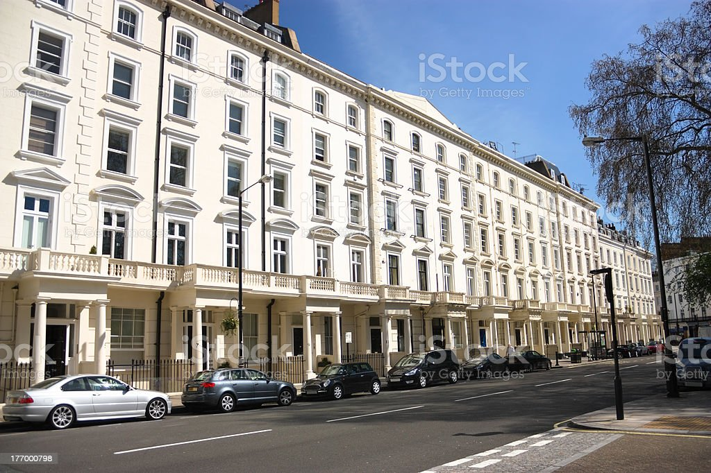 London, Saint George's Square royalty-free stock photo
