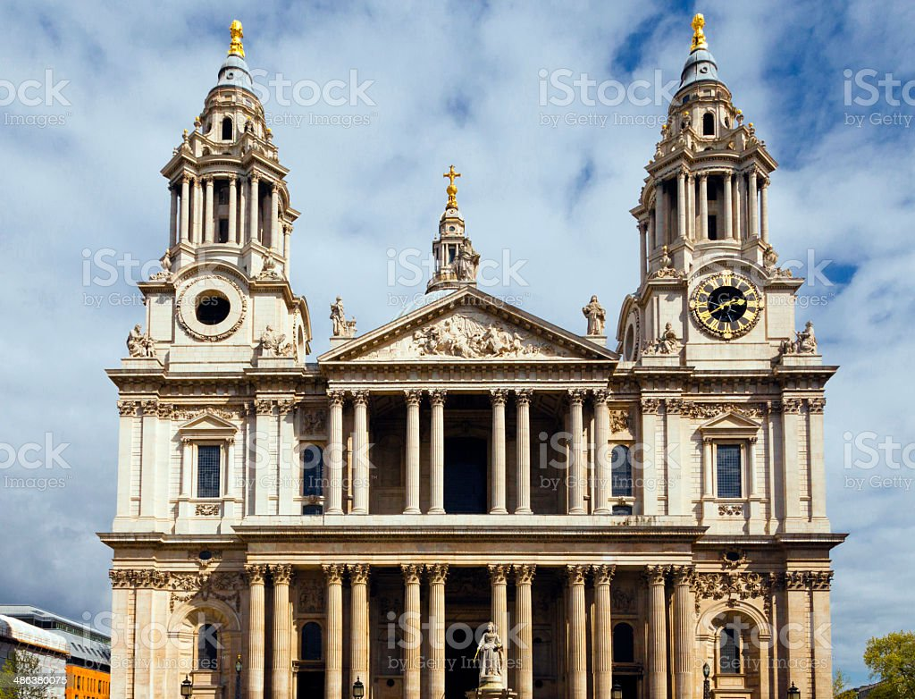London. Saint Paul's Cathedral royalty-free stock photo