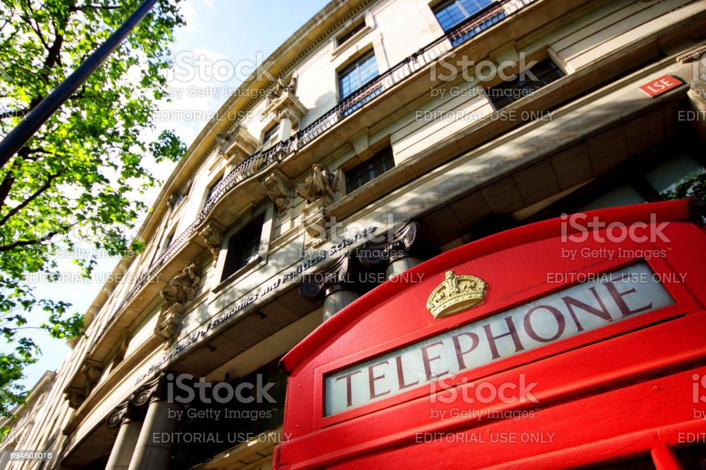 London School of Economics stock photo
