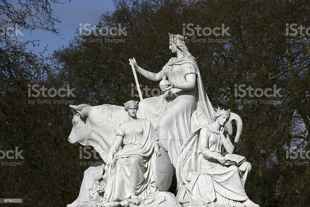 London sculpture royalty-free stock photo