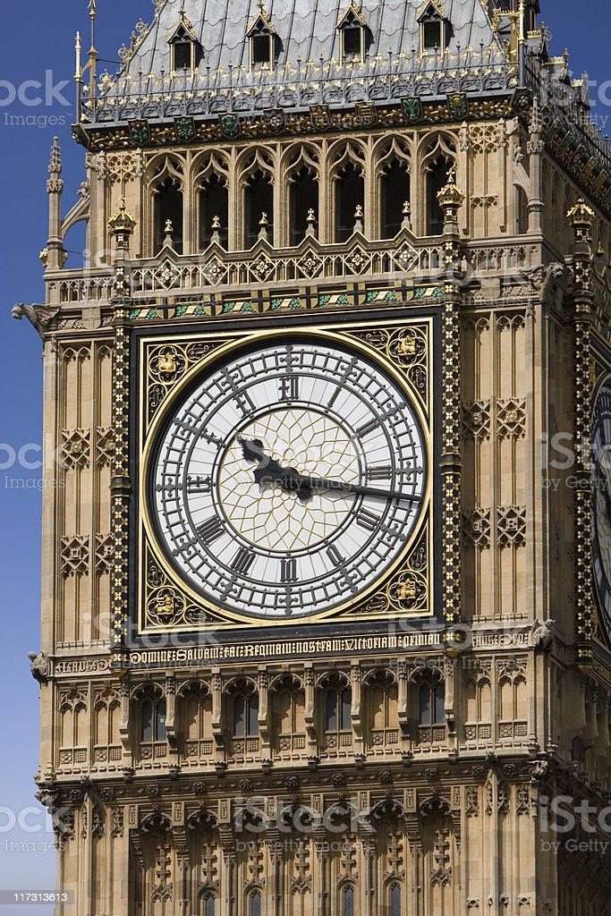 London. Sharp Big Ben royalty-free stock photo