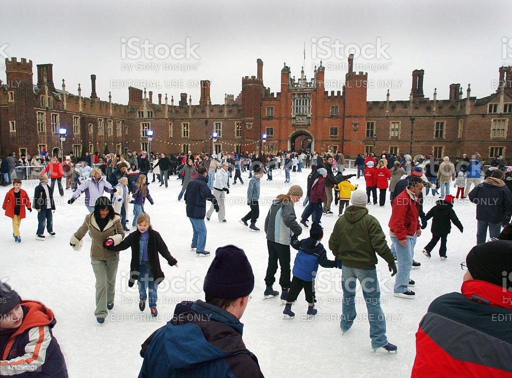 London Skaters stock photo