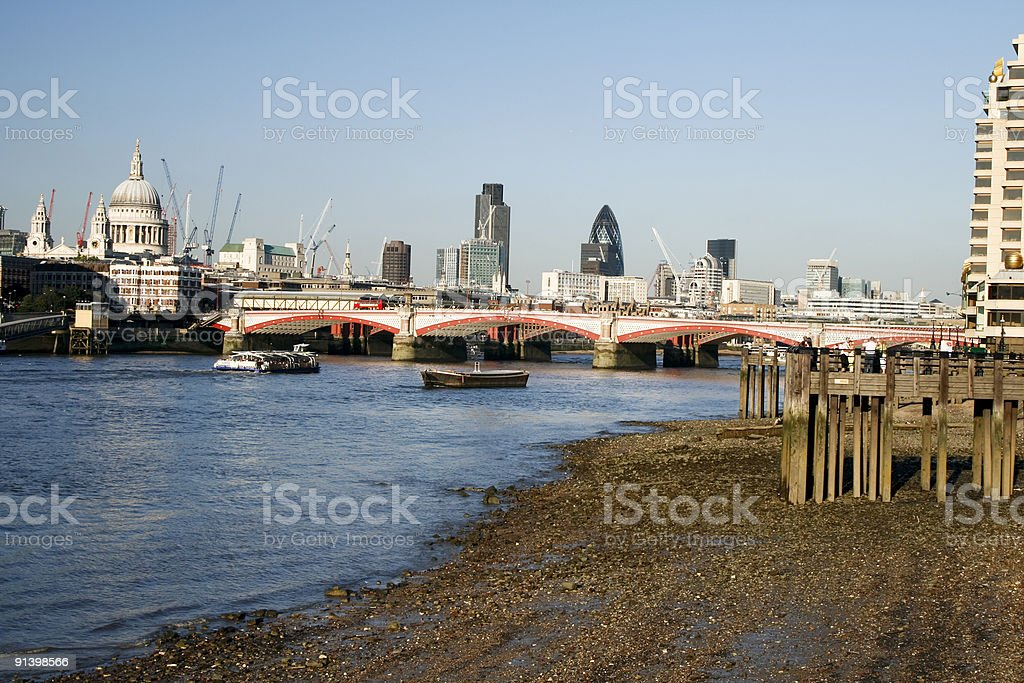 London skyline in England royalty-free stock photo