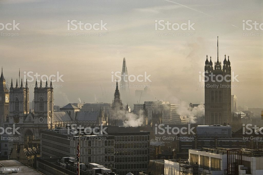 London Skyline on a fresh morning stock photo
