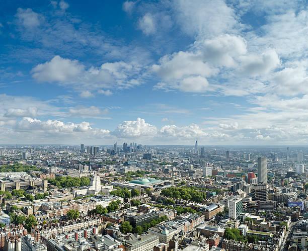 London skyline panorama stock photo