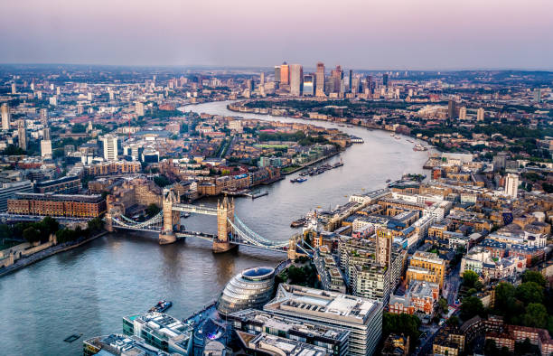 London skyline City of London skyline london england stock pictures, royalty-free photos & images