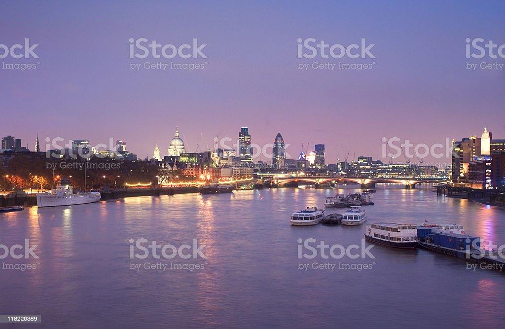 London skyline. royalty-free stock photo