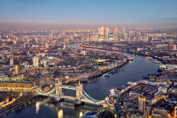 London skyline City of London, England, Europe, Famous Place, International Landmark central london stock pictures, royalty-free photos & images
