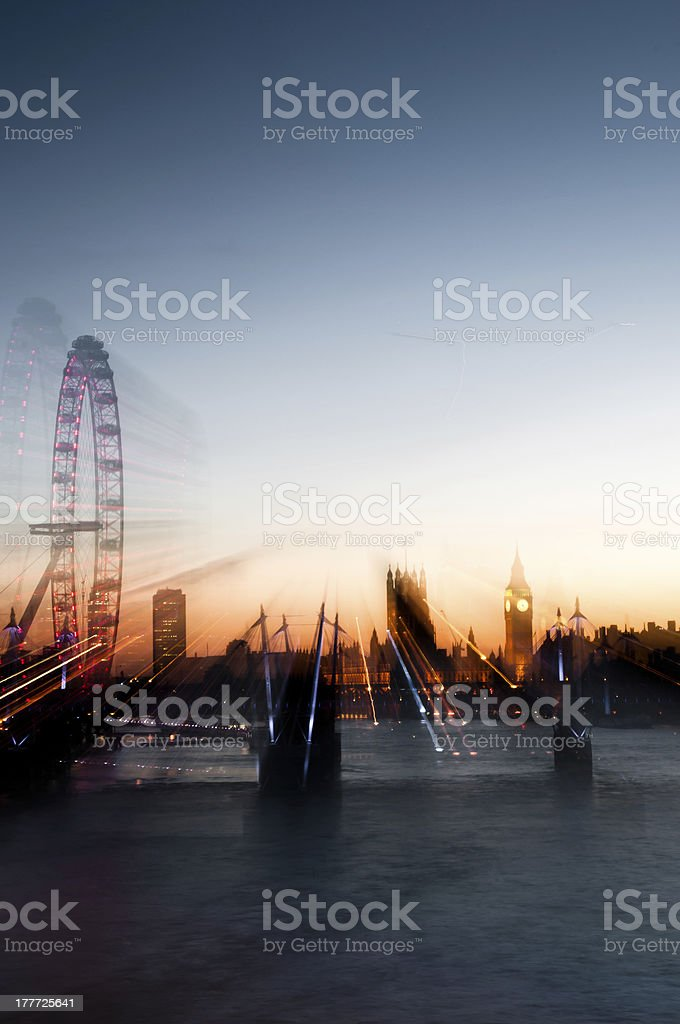 London skyline royalty-free stock photo