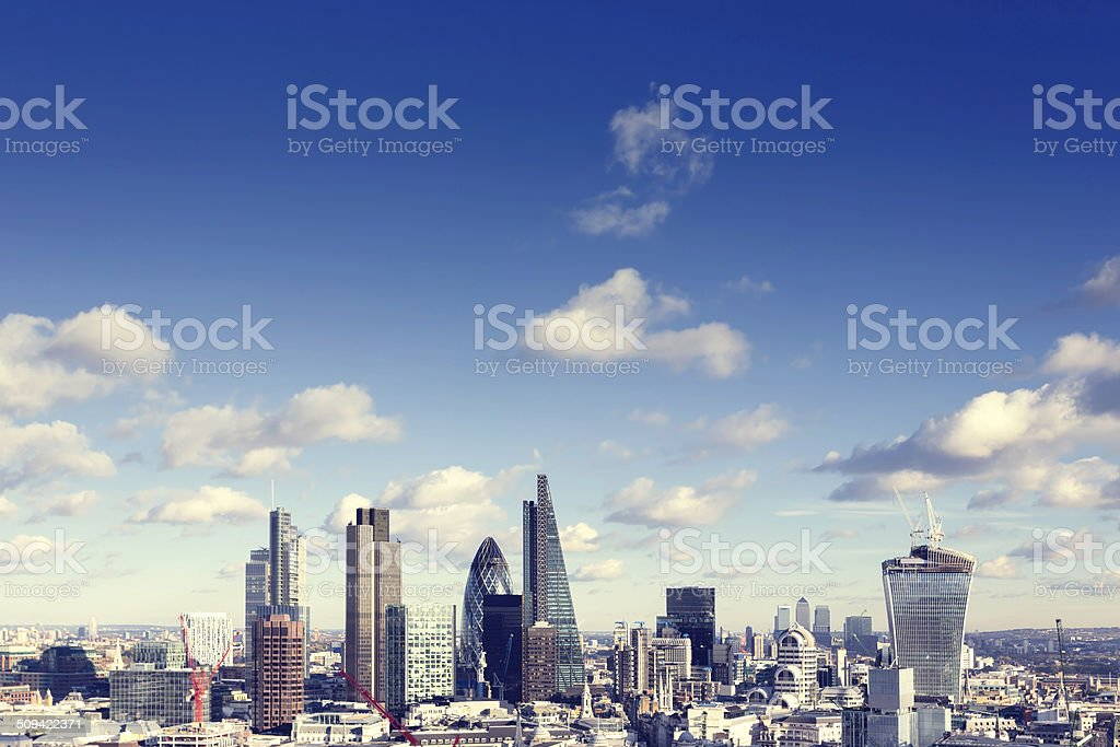 skyline von London – Foto