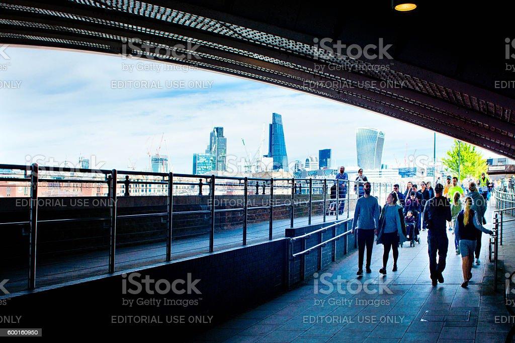 Ciudad de Londres  - foto de stock