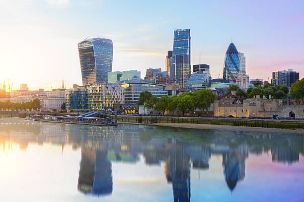 skyline von London  – Foto
