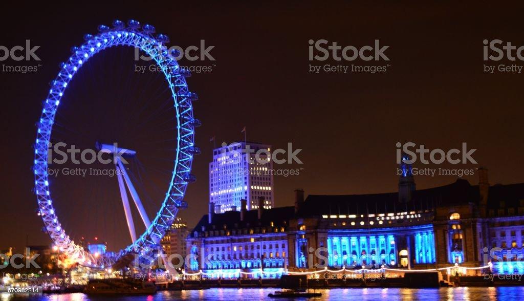 London skyline stock photo
