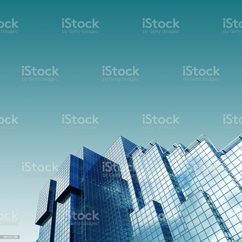 London skyscrapers skyline view stock photo