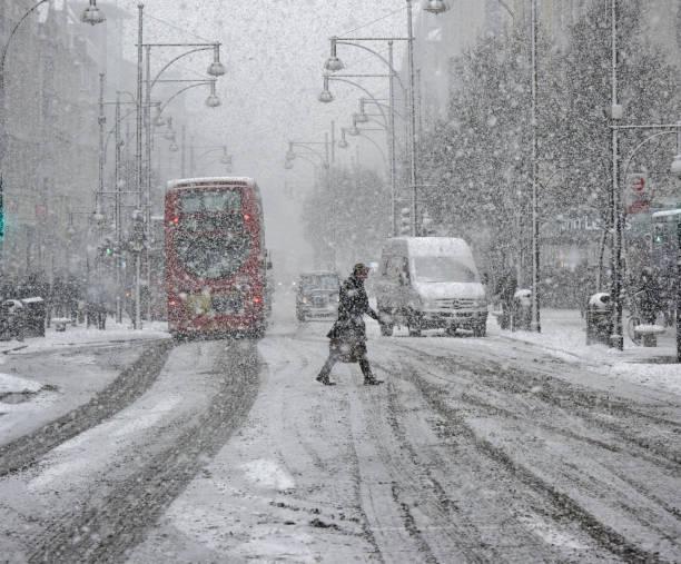 London-Schnee-Sturm – Foto