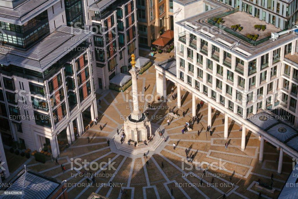 ロンドン証券取引所とセント ポ...
