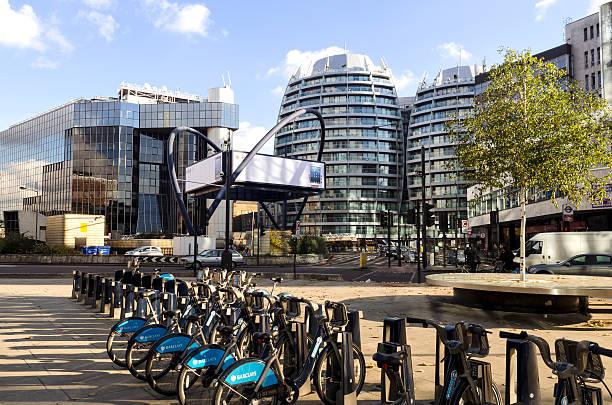 London-Tech-Stadt, Old Street Kreisverkehr – Foto