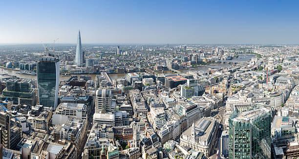 London, Thames panorama – Foto