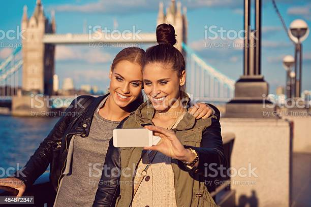 London Tourists Stock Photo - Download Image Now