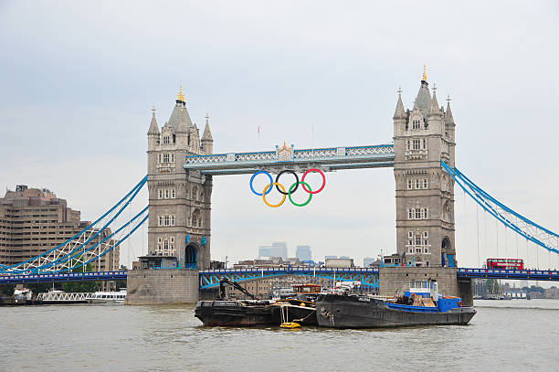 London – Tower Bridge während der Olympischen Spiele – Foto