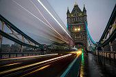 London Tower Bridge traffic speed