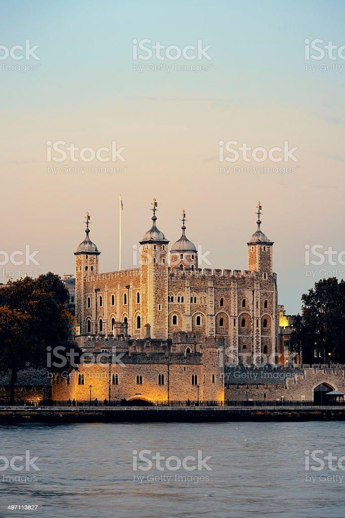 London tower stock photo