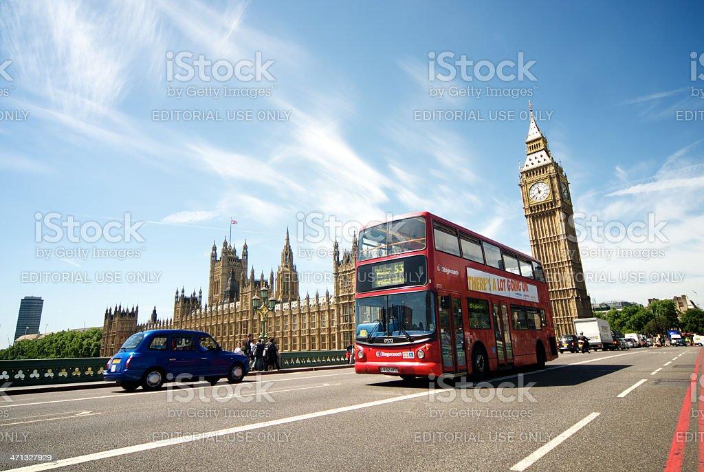 London transport royalty-free stock photo