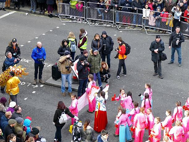 london, uk – 14. februar 2016 : chinesisches neues jahr 2016 - jugendweihe 2016 stock-fotos und bilder