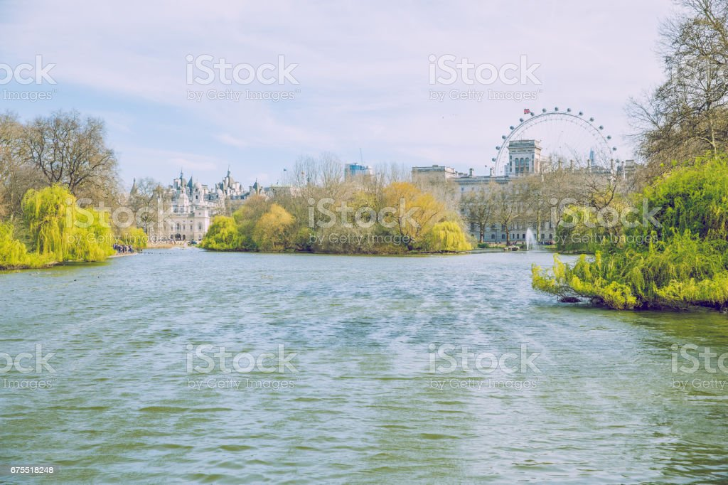 Londra, İngiltere, 2017, Street view. royalty-free stock photo